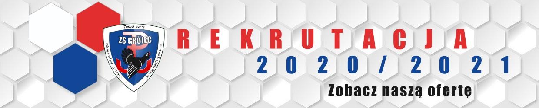 Zapraszamy do ZSGrójec - Rekrutacja 2020/2021